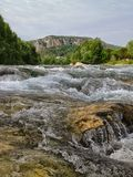 River. Very beautiful in france Stock Photos