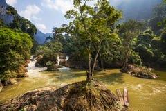 River in Vietnam Stock Photo