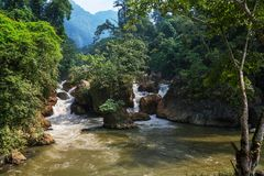 River in Vietnam Stock Photography
