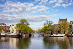 River View of Amsterdam Stock Photos