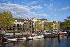 River View of Amsterdam Stock Image