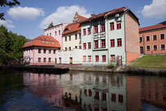 River View of Bydgoszcz in Poland Stock Photography