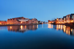 River View of Gdansk Stock Photo