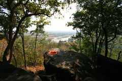River view from hill Stock Photography