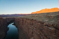 River view from the Navajo Bridge in Arizona USA. 1 Royalty Free Stock Images