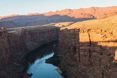 River view from Navajo bridge in Arizona USA. 1 Royalty Free Stock Photo