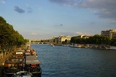 River View -. Paris, France downtown river Stock Photo