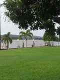 River view from park Innisfail Queensland royalty free stock images