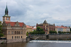 River View of Prague Royalty Free Stock Photography