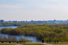 River View. View of the river sao observation deck. urban landscape royalty free stock photos