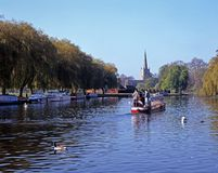 River view, Stratford-upon-Avon. Stock Photography