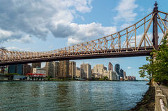 River View 59th St Bridge Stock Image