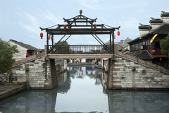 River village Tongli Stock Image