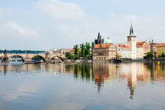 River Vltava Stock Photo