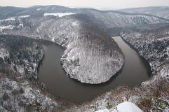 River Vltava, Czech republic Stock Photo