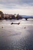 River Vltava Stock Image