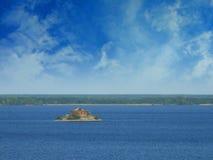 River `Volga` Royalty Free Stock Images