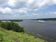 River Volga royalty free stock photography