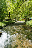 River Vrelo, right tributary of the river Drina Royalty Free Stock Photo
