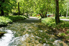 River Vrelo, right tributary of the river Drina Royalty Free Stock Image