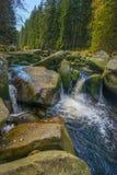 River Vydra Czech republic Stock Photography