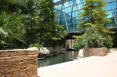 River walk in San Antonio. It is river walk in downtown san antonio,Texas Stock Photo