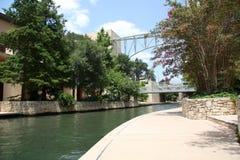 River walk. Beautiful river walk in downtown San Antonio, Texas Stock Photography