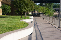 River Walk Stock Photo