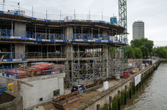 River Walk Gardens construction, Pimlico Stock Image