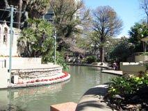 The San Antonio River Walk Stock Photography