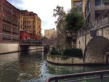River Walk Stock Photos