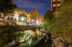 River Walk in San Antonio Texas Stock Photos