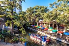 River Walk in San Antonio Texas Stock Images