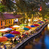 River Walk in San Antonio Texas Royalty Free Stock Images