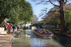 The River Walk in San Antonio Texas Stock Image