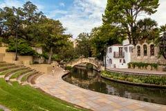River Walk in San Antonio, Texas Stock Images