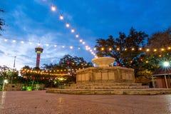 River Walk in San Antonio. Texas USA Stock Image