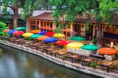 River Walk San Antonio. San Antonio, Texas, USA cityscape at the River Walk Stock Photography