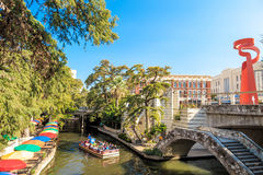 River Walk in San Antonio Texas Royalty Free Stock Image