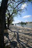 River walk in Seville, Spain Royalty Free Stock Photos