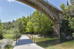 River walk. Stock Image
