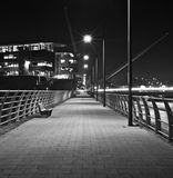 River walkway Stock Images