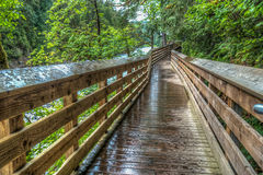 River Walkway HRD Royalty Free Stock Photography