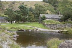 River at Watendlath; Lake District; England Stock Photography