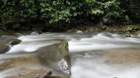 River. Water fall at Banjaran crocker Mahua Tambunan Sabah Malaysia Royalty Free Stock Photo