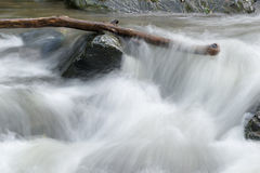 River water moving Stock Image