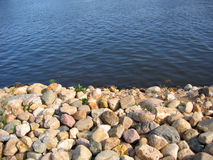 River water and stone Stock Image