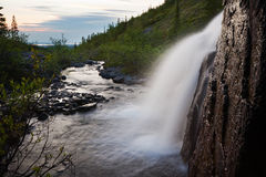 River and waterfall stock photography