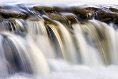 River waterfall stock images