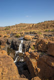 River and Waterfall at Bourke Luck Potholes, Blyde River Canyon, South Africa Royalty Free Stock Photo